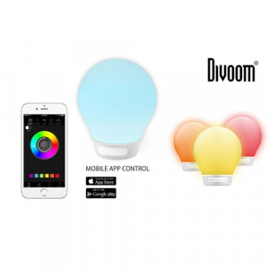 Divoom Aurabulb - white -Głośnik Bluetooth