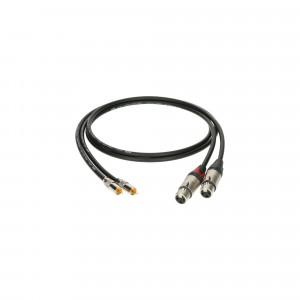 KLOTZ ALPF006 kabel sygnałowy RCA do XLR - 0.6 m