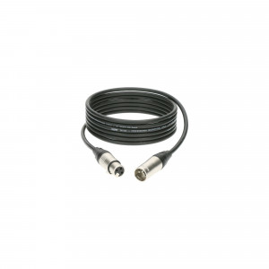KLOTZ M1K1FM0150 profesjonalny kabel mikrofonowy - 1.5m - czarny