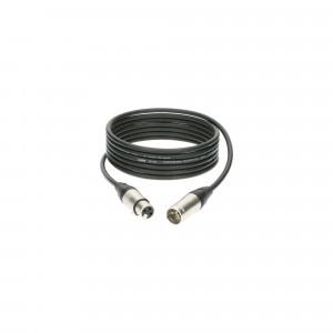 KLOTZ M1K1FM0300 profesjonalny kabel mikrofonowy - 3m - czarny