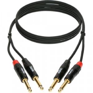 KLOTZ Minilink PRO KT-JJ300 2x jack 6,3 mm - 2x jack 6,3 mm PRO - 3 m