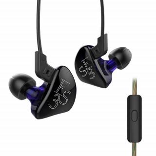 KZ ES3 z mikrofonem - black-purple
