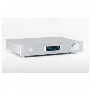 Lumin M1 srebrny - odtwarzacz plików ze wzmacniaczem stereo