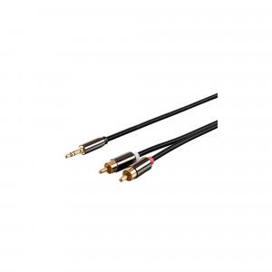 Monoprice Onyx Series kabel sygnałowy stereo 3.5 mm do RCA - 1.8 m