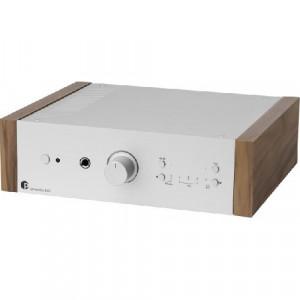 Pro-Ject STEREO BOX DS2 - srebrny + walnut