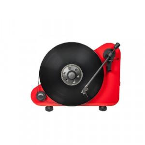 Pro-Ject VT-E BT R OM5E gramofon wertykalny - czerwony