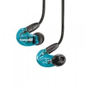 Shure SE215 Special Edition - niebieskie