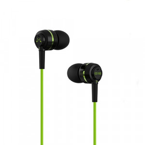 SoundMAGIC ES18s black-green for All Smartphones