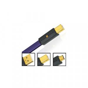 WIREWORLD ULTRAVIOLET 8 USB 2.0 A to Micro B (U2AM) - 3 m