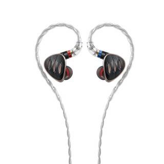 FiiO FH5s  black półotwarte słuchawki IEM z odpinanym kablem MMCX