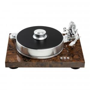 Pro-Ject SIGNATURE 10 SuperPack - Gramofon analogowy - walnut burl gloss