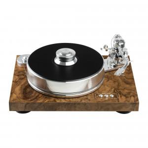 Pro-Ject SIGNATURE 10 SuperPack - Gramofon analogowy - walnut burl satin