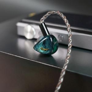Queen of Audio (QOA) Vesper - jade green by KINERA