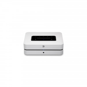 BLUESOUND POWERNODE Wireless Multi-Room Music Streaming Amplifier - white