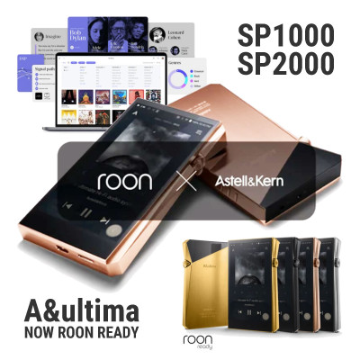 Astell&Kern ready to Roon SP1000 i SP2000