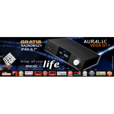 AURALiC VEGA G1 + gratis Apple iPAD 9,7 cala